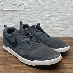 Nike SB Zoom Grey Black Skateboarding Shoes 11.5
